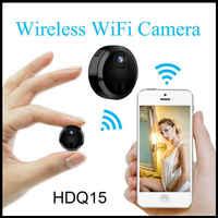 HD mini Kamera wi-fi akcja noktowizyjna bezprzewodowa tajna Kamera bezpieczeństwo strona główna Kamera mała Kamera Espia IP Micro Cam