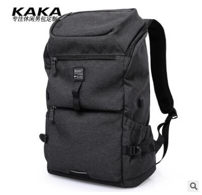 KAKA Oxford Men Backpack Travel Backpack Bag for Men Large Capacity Laptop Shoulder Bag Man Business Bag Rucksack For Teenagers