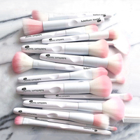 17 Pcs Makeup Brushes Tool White Color Cosmetic Brush Eye Shadow Brush Make Up Tool