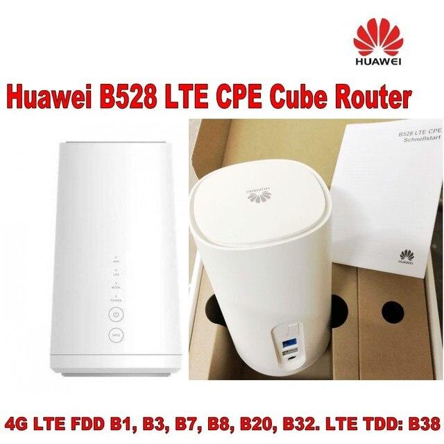 הרבה 50 יחידות Huawei קוביית B528s-23a LTE CPE נתב, DHL חינם