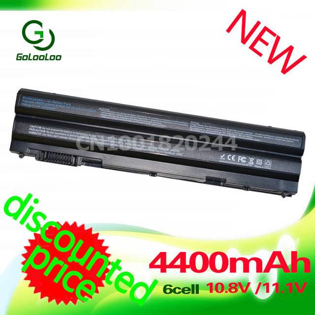 Golooloo 4400 mah da bateria do portátil para dell latitude e5430 e5530 e6120 e6430 e5520m e6520 e6420 e6530 vostro 3560 para 3460