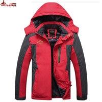 UNCO BOROR Plus Size 7XL 8XL 9XL Winter Jacket Men Thick Warm Waterproof Parkas Male Velvet