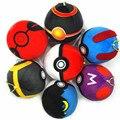 7 cm Pokeball Juguete relleno Felpa Muñeca Bola Elf Pokeball Japón Modelos para Los Niños Figura de Anime Juguetes Regalos Del Cabrito PP de Dibujos Animados Peluche