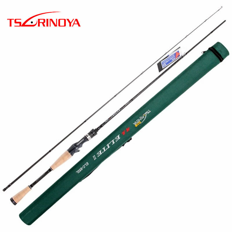 Tsurinoya Baitcasting Fishing Rod L 2 Sections 1.95m Carbon Lure Rods FUJI Accessories  Canne A Peche  Vara De Pesca CarpTsurinoya Baitcasting Fishing Rod L 2 Sections 1.95m Carbon Lure Rods FUJI Accessories  Canne A Peche  Vara De Pesca Carp