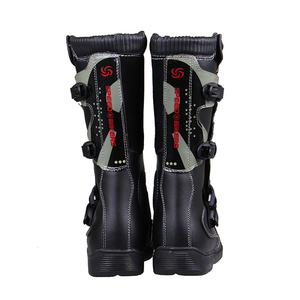 Image 2 - PRO BIKER Motorcycle Boots Men Riding Boots Racing Motocross Boots Off Road Motorbike Riding Moto Boots Waterproof Shoes