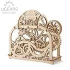 DIY juguete de rompecabezas de montaje de modelo de transmisión mecánica de Teatro de madera 70 piezas