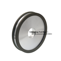 Double Sided Concave Shape Of Diamond Grinding Wheel Grinding Hard Alloy Diamond Grinding Wheel 150 36