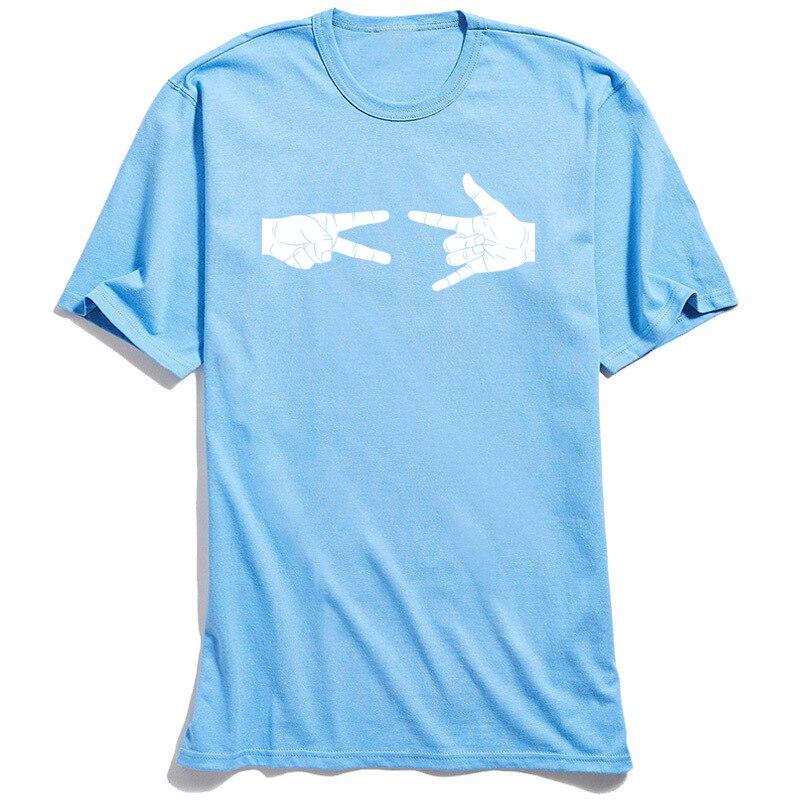 Custom Design Tops T Shirt for Adult Newest Summer Autumn Round Neck Cotton Short Sleeve T Shirt Street T Shirt Peace Love and Rock N Roll light