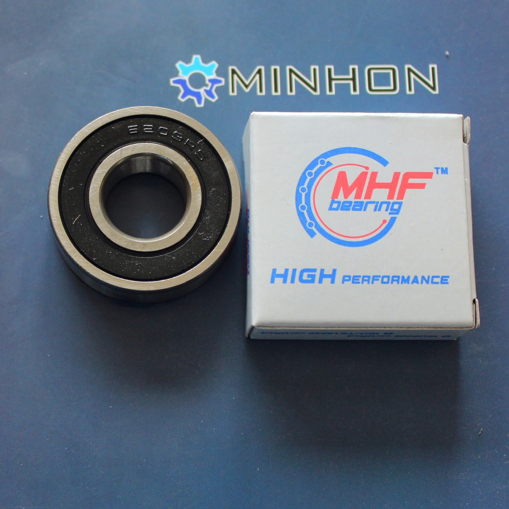 1pc 6203-2RS 6203 2RS MHF  Deep Groove Ball Bearings Size 17x40x12 Mm Best Price High Performance