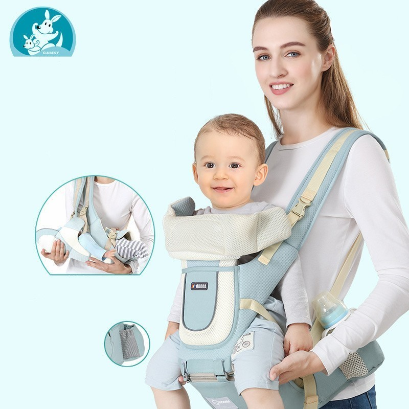 Ergonomic backpack Baby Carrier Infant Kids Baby Hipseat Carrier Front Facing Kangaroo Baby Wrap Sling bag for Baby Travel 0 36M|Backpacks & Carriers| |  - AliExpress