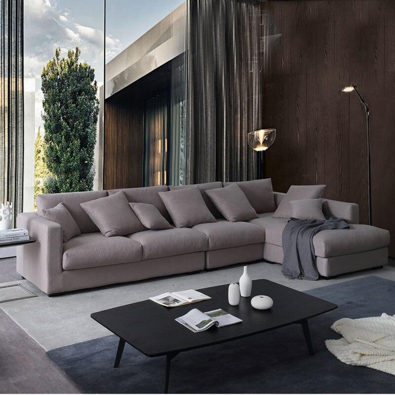 Terrific Nordic Fabricwashable Simple Modern Small Apartment Living Dailytribune Chair Design For Home Dailytribuneorg