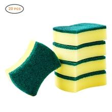 20 шт./лот губка Ластик Меламиновый очиститель для кухни чистящая ткань Губка для мытья посуды кухонные чистящие инструменты