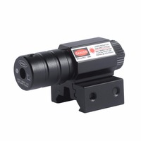 Практичный тактический охотничий красный точечный прицел, лазерный светильник, луч, прицел, крепление для быстрого прицеливания, стрельба ...