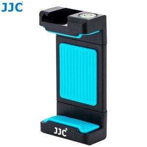 Image 1 - JJC Smart Phone Clip 56 105mm Adjustable Selfie Stick Phones Holder for iPhone/HUAWEI/MI/Samsung