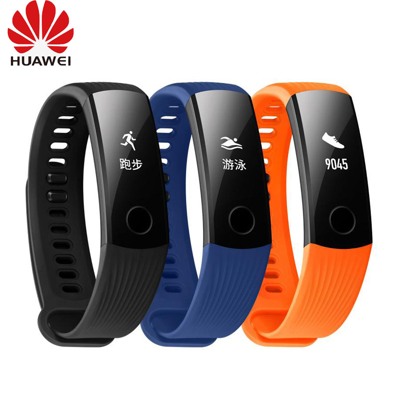 Original Huawei Honor Band 3 Smart Wristband Swimmable 5ATM 0.91 OLED Screen Touchpad Heart Rate Monitor Push MessageOriginal Huawei Honor Band 3 Smart Wristband Swimmable 5ATM 0.91 OLED Screen Touchpad Heart Rate Monitor Push Message