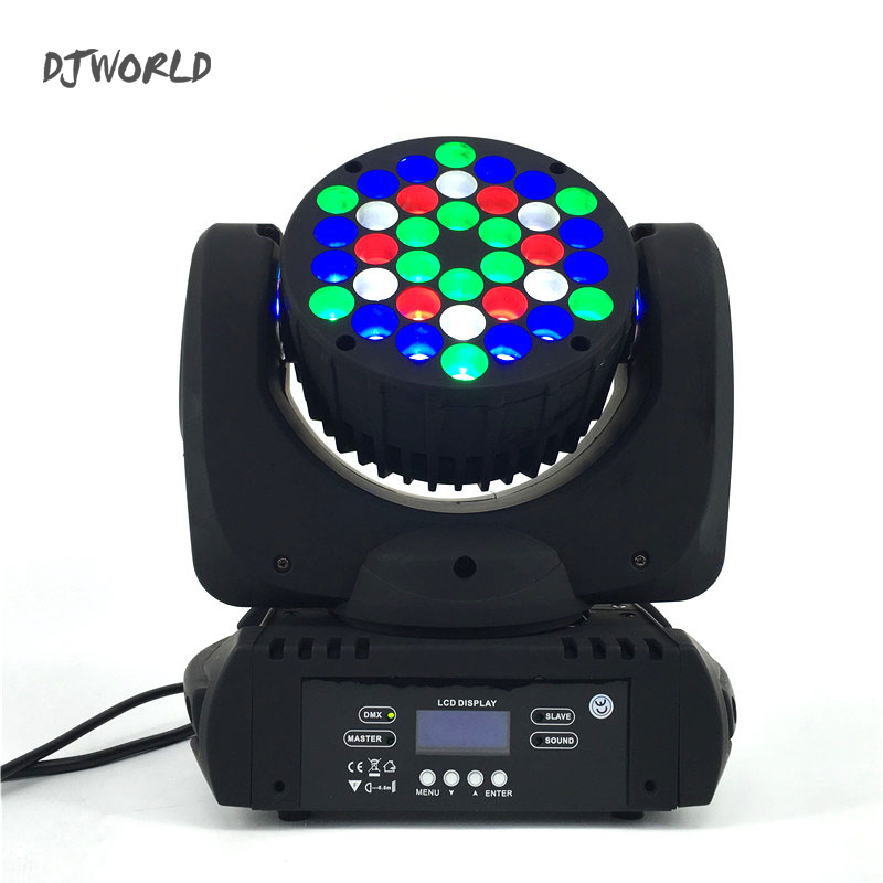 LED Beam 36x3W Moving Head Light RGB LED Wash Light With 9/16 Channels linear Dimming DMX512 Stage Lights Professional Stage &dj 19 12w high power led rgbw wash light 16 channels ac90 240v moving head light professional stage