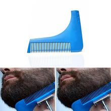 Men Beard Shaping Styling Template Comb Tool for Hair Trim Combs Innovative Design