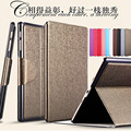 For Samsung Galaxy Tab S SM-T800 SM-T805 Tablet Case 8 inch Fashion Solid Stand Flip Folio Protective Tablet Leather Cover