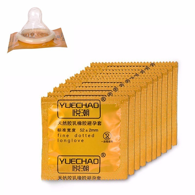 10pcs <font><b>Bulk</b></font> Condom High Quality Condoms with Full Oil Time Delay Lasting Condom Safe Contraception image