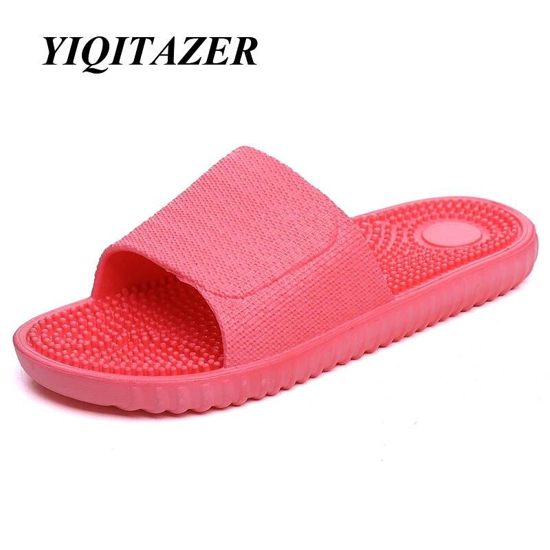 YIQITAZER 2017 Summer Fashion Casual Shoes Women Slippers,Quality Sweet Cute Cool Slipon Womens Slides Pink Purple Blue