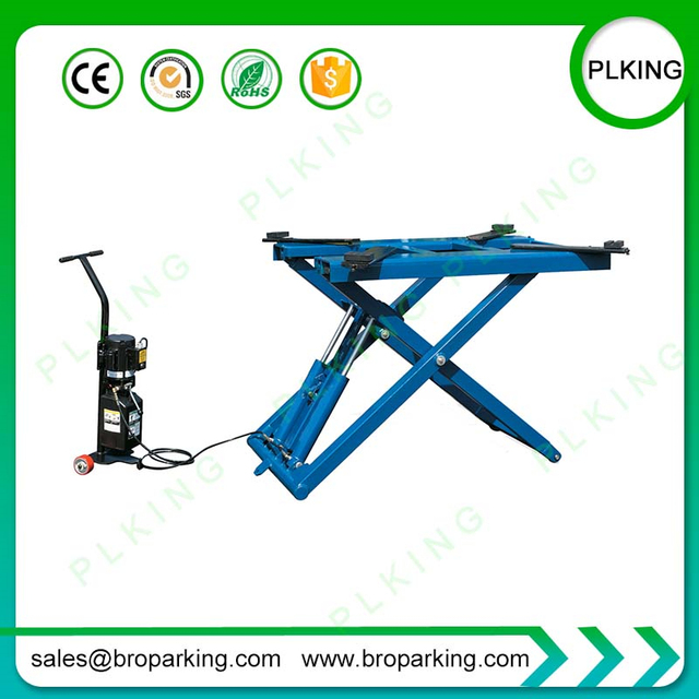 Us 1050 0 Car Service Lifter With Movable Auto Scissor Lift Supplying From China At Factory Price In Lifting Machine From Automobiles Motorcycles