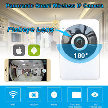 2016 New Arrival Free shipping! 720P Wireless WiFi Network IP Camera Security Fisheye Night Vision Monitor Webca