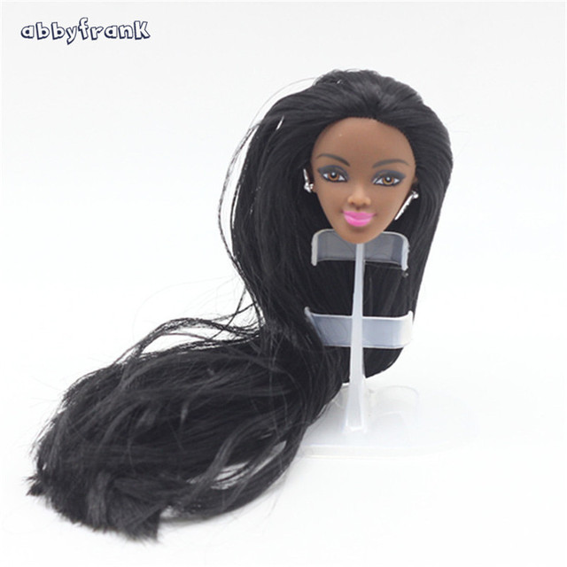 Abbyfrank Black Skin Women Doll Wigs Without Body Different