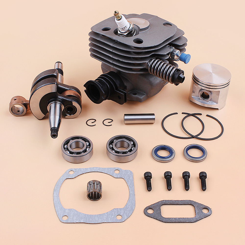 50mm Piston Cylinder Crankshaft Bearing Buffer Spring Compression Release Kit Fit Husqvarna 362 365 371 372 372XP Chainsaw Spare