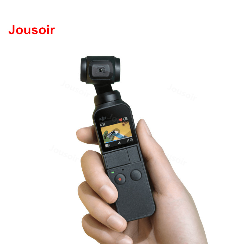 DJI Osmo 3-eixos Estabilizado cardan Handheld Câmera de Bolso Com 4 k 60fps Vídeo Estabilização Mecânica Inteligente kit CD50 t01