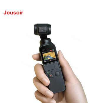 DJI Osmo poche cardan 3 axes stabilisé caméra portable avec 4 K 60fps vidéo stabilisation mécanique kit Intelligent CD50 T01