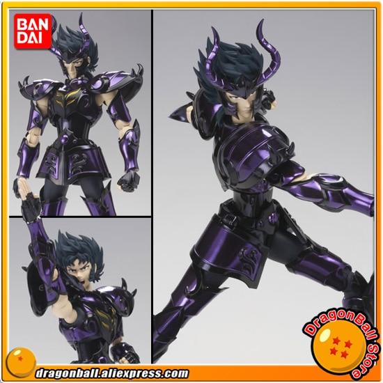 Anime Saint Seiya Original BANDAI Tamashii Nations Saint Cloth Myth EX Action Figure - Capricorn Shura Surplice saint