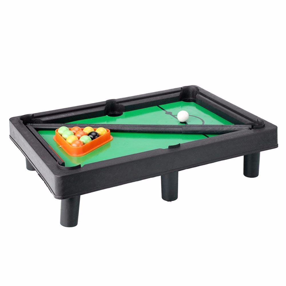 Peradix Kids Mini Tabletop Pool Table Game Billiards Toys Easy To Assemble  Gift Brinquedos(China