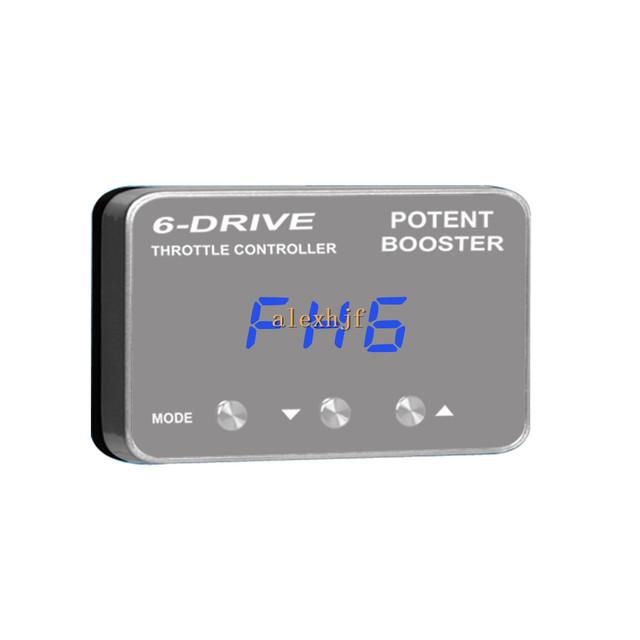 TROS Potente Reforço II 6 Unidade Do Controlador Eletrônico de Aceleração TS-802 case para Ford Focus, Mondeo, S-MAX Ecosport, Mazda 3,5 etc