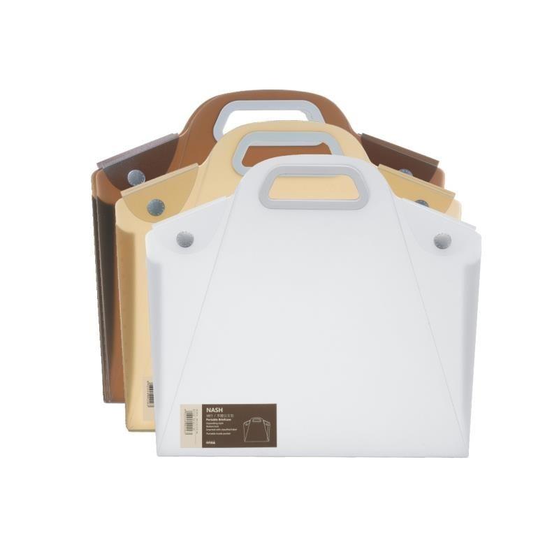 Biznes atmosfera Twórczej prosty ręczny przycisk torba pakiet plików a4 pliku portfolio student szkoła papiernicze