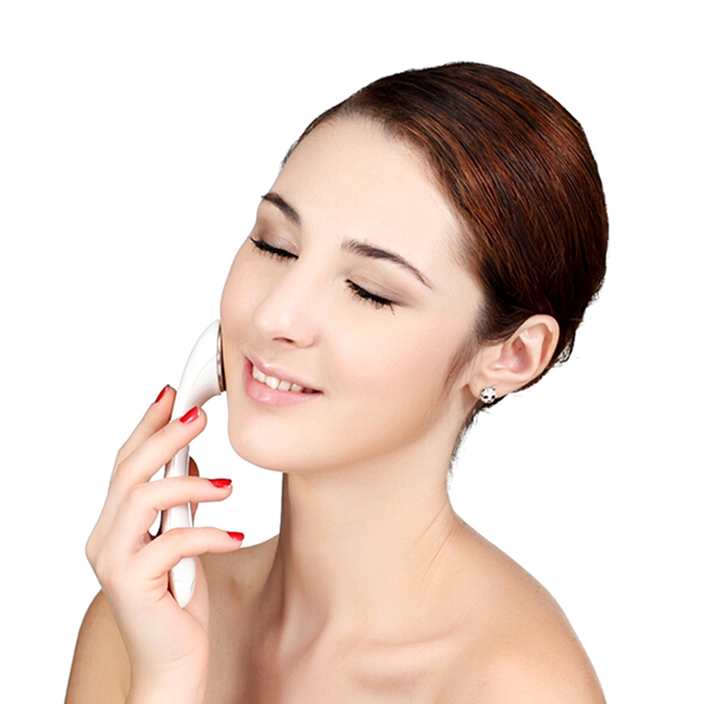 Ultrasonic Ion Face Lift Massage Tool Facial Skin Care Beauty Face Slimming Chin Shape Massager Mini Electric Massage Device negative ion instrument ultrasonic facial wrinkle removal massager beauty care tool facial massage wash face machine