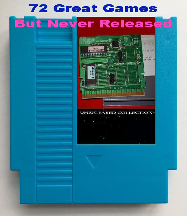 Unreleased Collection 73 In 1 Game Cartridge For NES Console