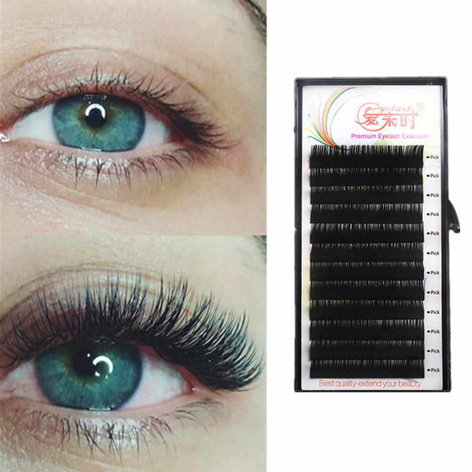 cdeaf0e43e5 All Size Individual Eyelash Extension BCD Curl High Quality False Mink Lash  Classical False Eyelash Extension