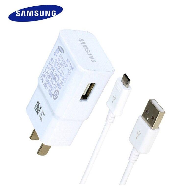 Original Samsung Charger Adapter 5V 2A 9V 1 67A with free Cable EU US Plug Travel