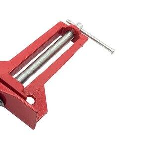 Image 4 - 4個新しい多機能90度アングルクリップ額縁コーナークランプ100ミリメートルマイターコーナーホルダー木工クランプツール