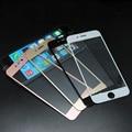 Cubierta completa templado superior de cristal protector de pantalla para iphone 5 se 6 s 6 plus templado película protectora envío gratis