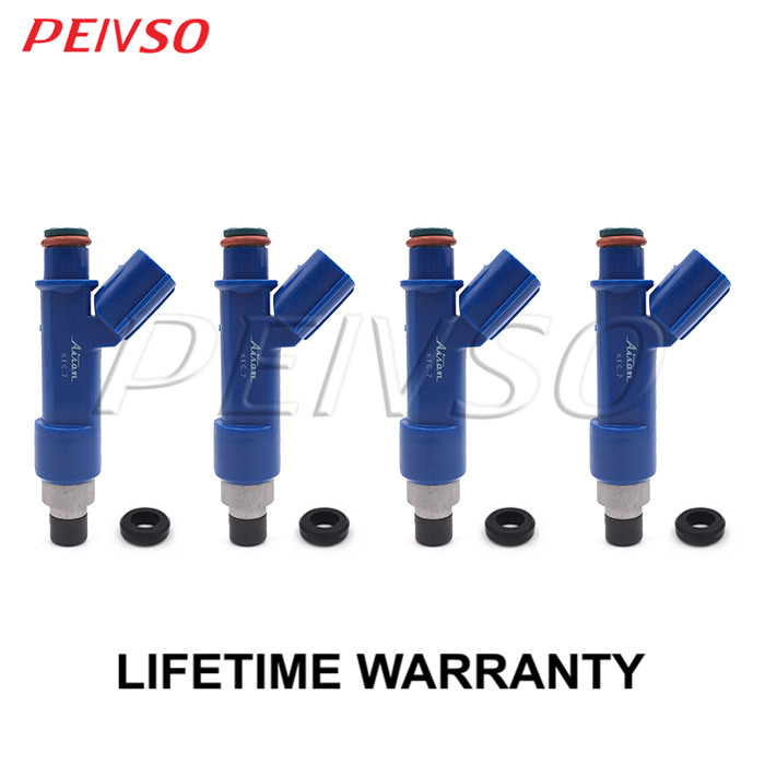 4x 23209 21040 23250 21040 fuel injector for TOYOTA JP COROLLA AXIO FIELDER 06 12 COROLLA