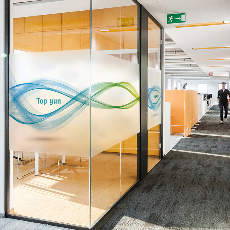 Office glass door designs Sandblasted Custom Frosted Glass Film Collision Office Glass Door Stickers Personalized Creative Window Paper Glass Window Stickers Nxtwall Custom Frosted Glass Film Collision Office Glass Door Stickers