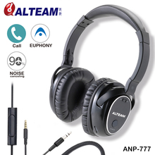 High Quality Overear Deep Bass Surround Sound Noise Canceling Noise Reduction Headphones Head Phones For Phone MP3 MP4 With Mic(Taiwan)