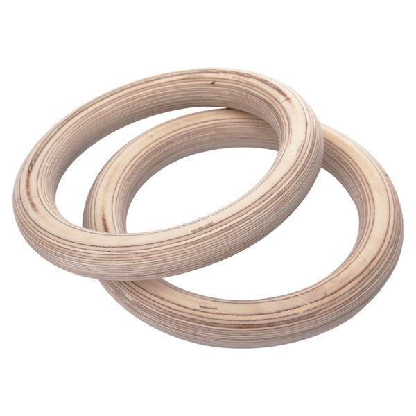 Inele de gimnastică din lemn de 32mm Antrenament Gymnastic Forness - Fitness și culturism