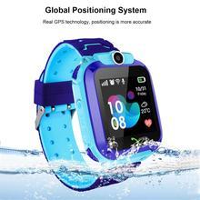 Дети смарт часы телефон, дети gps-трекер SOS часы с анти-потеря сигнализации Слот для сим-карты умные часы с сенсорным экраном для детей