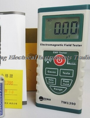 TM1390 electromagnetic radiation radiometer instrument measuring the magnetic field radiation tester gauss meter TECMAN