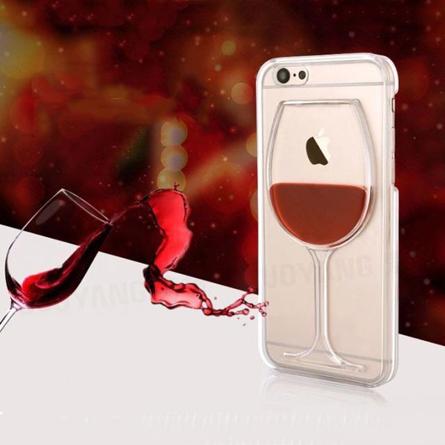 Wine Glass Liquid Case For iPhone