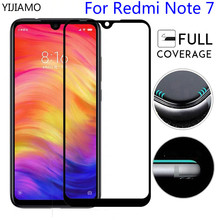 Full Glue Tempered Glass for Xiaomi Redmi Note 7 Screen Protector note  Protective film cover pro