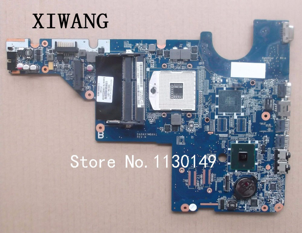 Free Shipping For HP Pavilion CQ42 CQ62 G42 G62 Motherboard HM55 DDR3 Integrated Laptop Motherboard 595184-001 Fully Tested