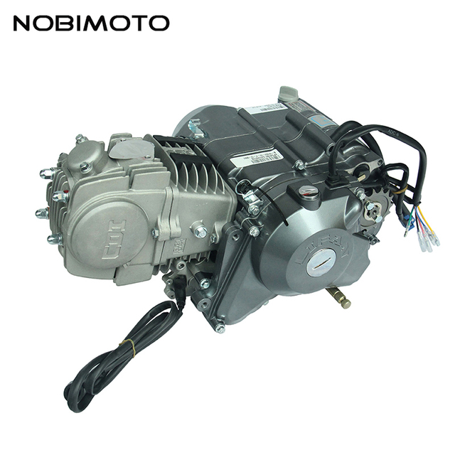 Pit Dirt Bike 125cc electric foot Start Engines For Lifan 125cc ...